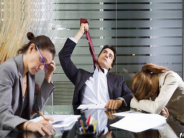 Офисная работа медленно убивает