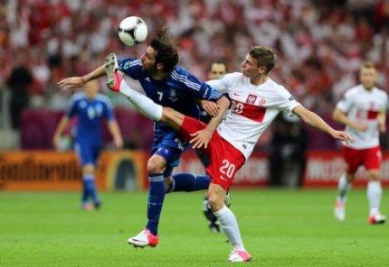 Польша и Греция сыграли вничью – 1:1