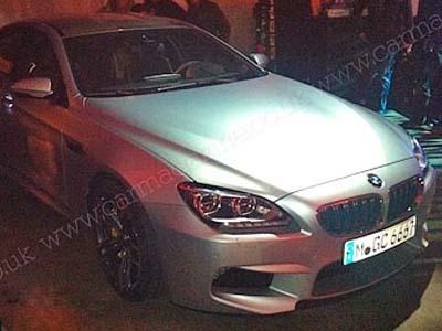 Фото новой «шестерки» BMW без камуфляжа