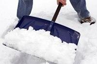 За уборку снега женщине грозит тюрьма
