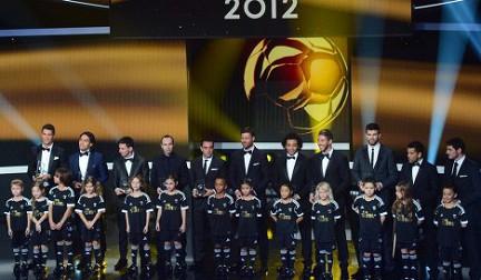 Сборная мира по футболу 2012 года по версии ФИФА