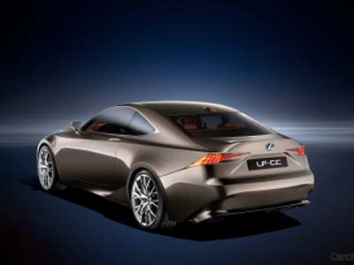 Зарегистрирована новая модель от Lexus