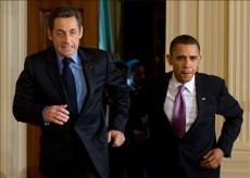 Обама подколол Саркози