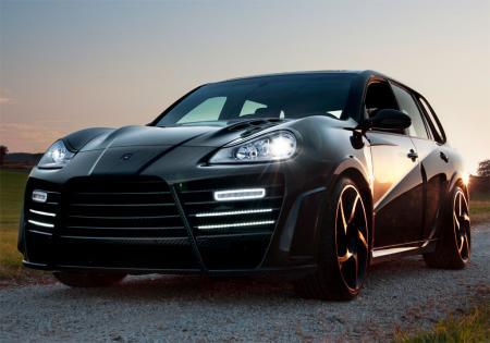 Porsche Cayenne на «карбоновой диете»