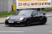 Шпионские фото нового Porsche 911 GT3