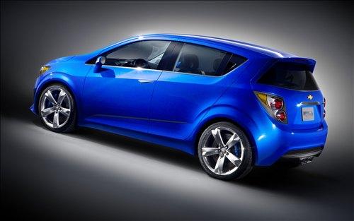 «Заряженная» версия Chevrolet Aveo RS